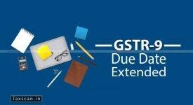 GSTR-9 Extension - GSTR-9C - Taxscan