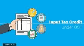 ITC - tax liability- Taxscan