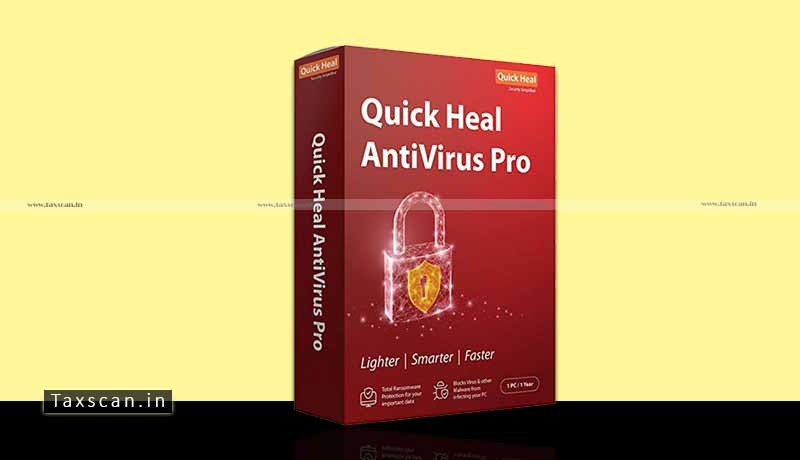 Quick Heal Antivirus software - No Service Tax - License Fee - CESTAT - Taxscan