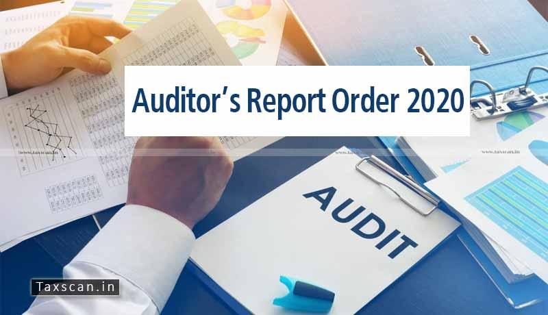 Auditor's Report Order - Auditor's Report - Order 2020 - MCA - Changes - Taxscan