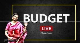 Budget 2020 - Nirmala Sitharaman - Union Budget - Finance Minister - Budget Scan - Taxscan
