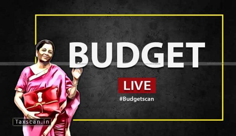 Union BUDGET 2020 – Live Updates