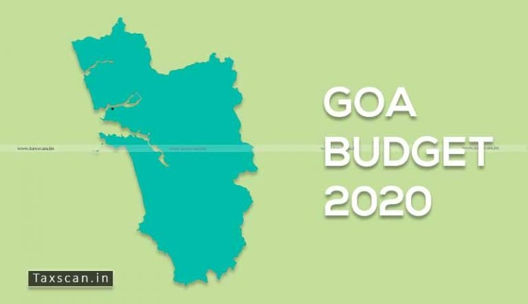 Goa Budget 2020: Proposed Amendments to Goa GST Act