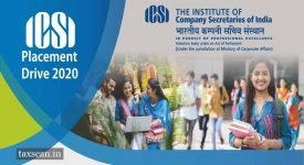 ICSI Placement Drive - Qualified - Company Secretary - Four Metro Cities - Taxscan