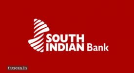 CENVAT Credit - South Indian Bank - Jobscan - Taxscan