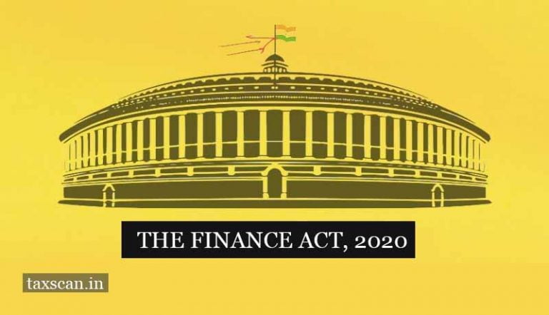 Finance Ministry notifies the Finance Act 2020 [Read Act]