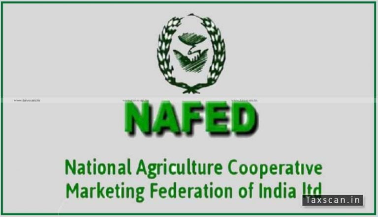CA / ICWA vacancies in NAFED