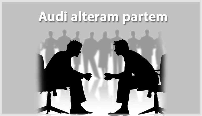 Audi alteram partem - ITAT - tax proceedings - Taxscan