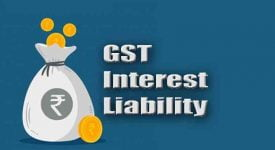 GST Interest Liability - GST - Taxscan