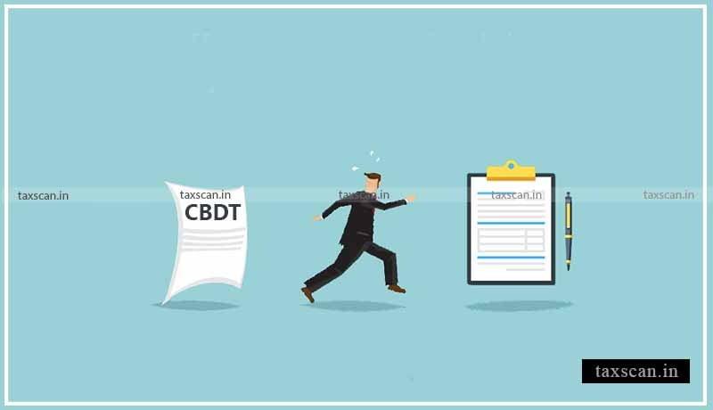 Forms 15G 15H - CBDT - Taxscan