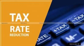 NAA prices - Tax Rate Reduction - Taxscan