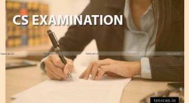 CS Exam - CS Examination - ICSI -Taxscan