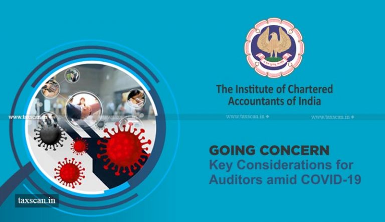 ICAI issues Rules for Audit of Going Concern amid COVID-19