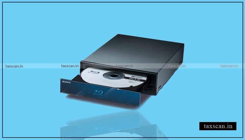 DVD - CDs - Software - GST - AAR - Taxscan