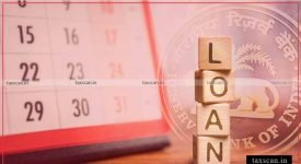 MLoan Moratorium - RBI - Taxscan