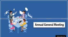 Annual General Meeting -Taxscan