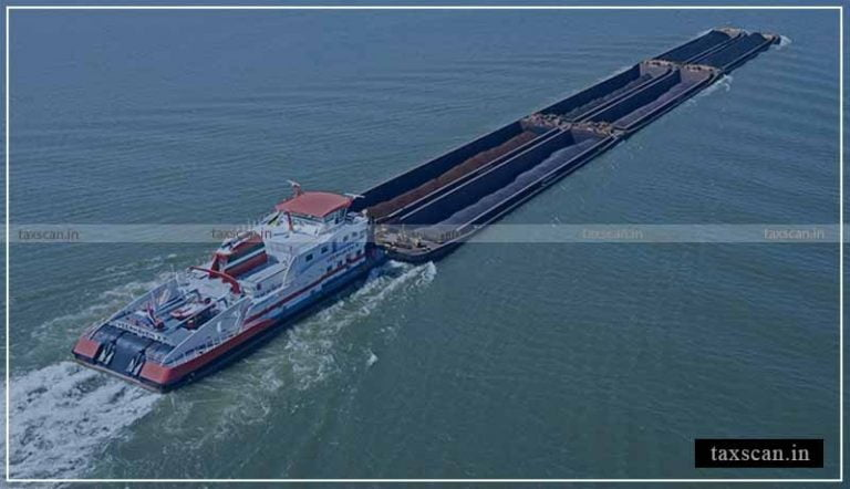 Service of Transportation of Goods in Barrages from Mother Vessel to daughter Vessel doesn't falls under 'Inland Waterways', No Exemption: AAR [Read Order]