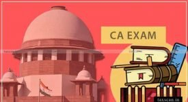 ICAI - CA Exams - SupremeCourt - opt out - Taxscan