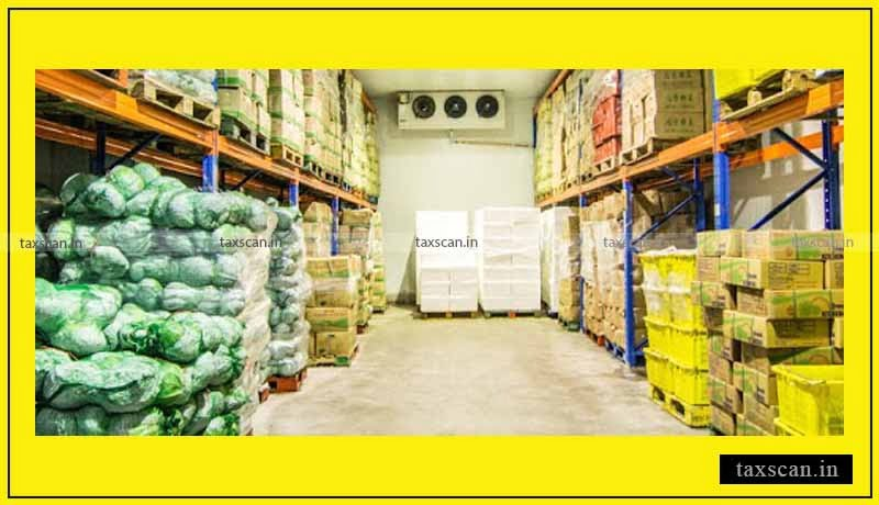 Cold Storage - AAR - GST - agriculture - Taxscan
