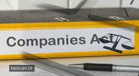 MCA - Companies Act - Taxscan