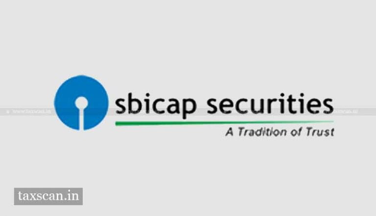 Chartered Accountant vacancy in SBICAP Securities
