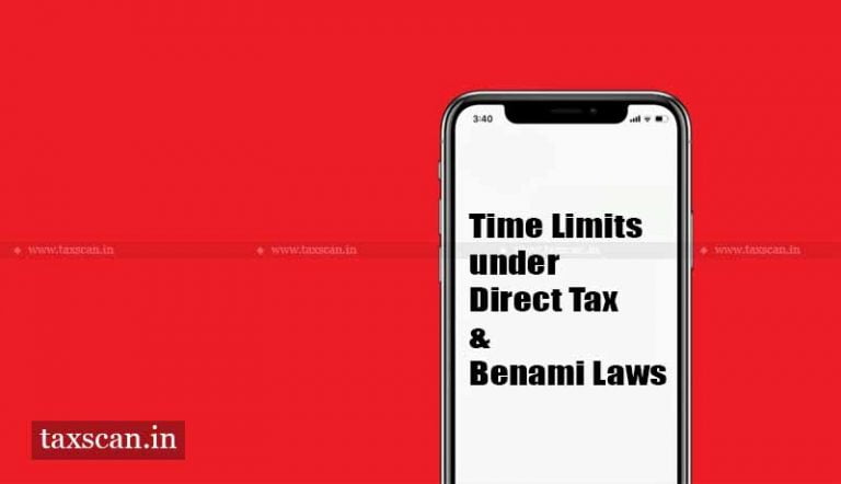 Finance Ministry notifies Extension of various Time Limits under Direct Tax & Benami Laws [Read Notification]