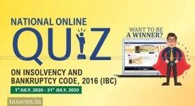 online Quiz - IBC - Taxscan