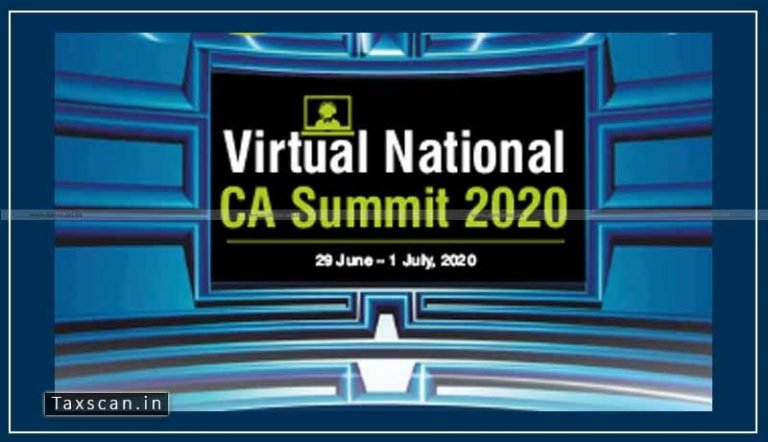 ICAI to conduct First Virtual National CA Summit 2020