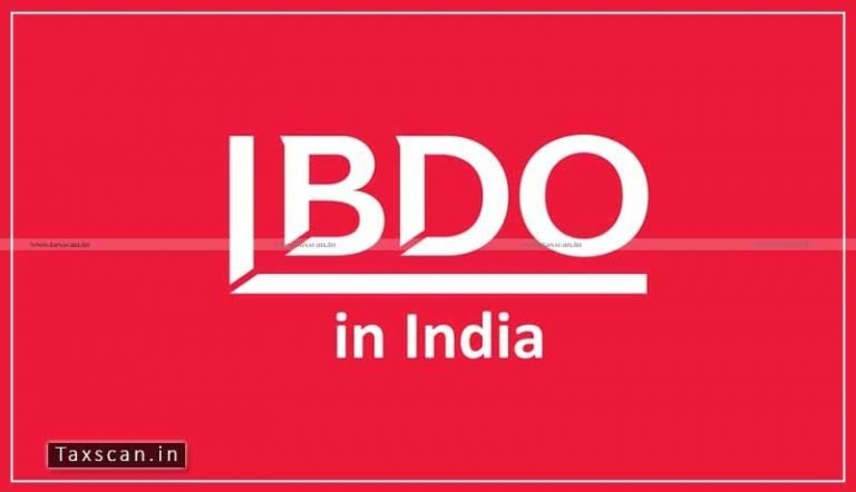 CA / ACCA / CPA vacancy in BDO India