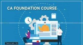 CA Foundation Course - ICAI - Taxscan