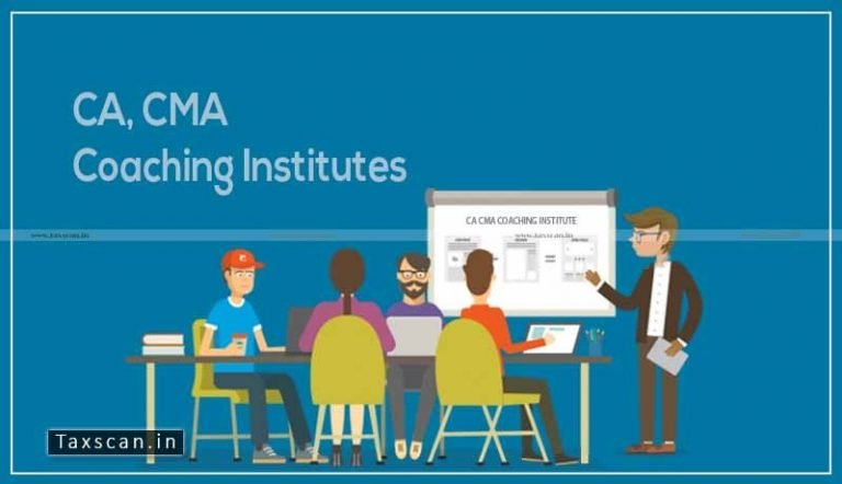 CA, CMA Coaching Institutes are not exempted from GST: AAR [Read Order]