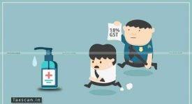 GST - Hand Sanitizers - AAR - Taxscan