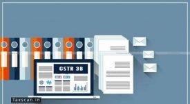 GSTR 3B - Taxscan