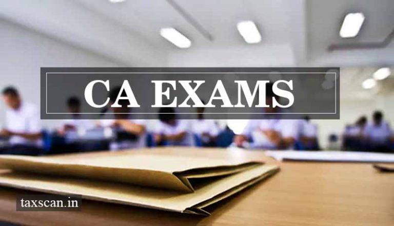 ICAI announces CA Exams November 2020 Schedule
