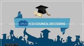 ICSI - CS - Council -Taxscan