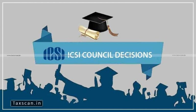 One More attempt for CS Exams Old Syllabus: Read Important decisions taken by ICSI Council
