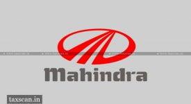 Mahindra & Mahindra - Income Tax - Taxscan