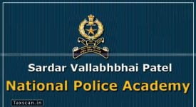 Sardar Vallabhbhai Patel National Police Academy - Teaching Assistant - Taxscan