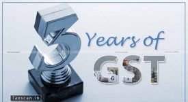 Three years of GST - Taxscan