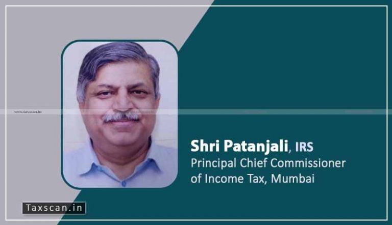 Shri Patanjali, IRS (1986) assumes charge as Principal Chief Commissioner of Income Tax, Mumbai