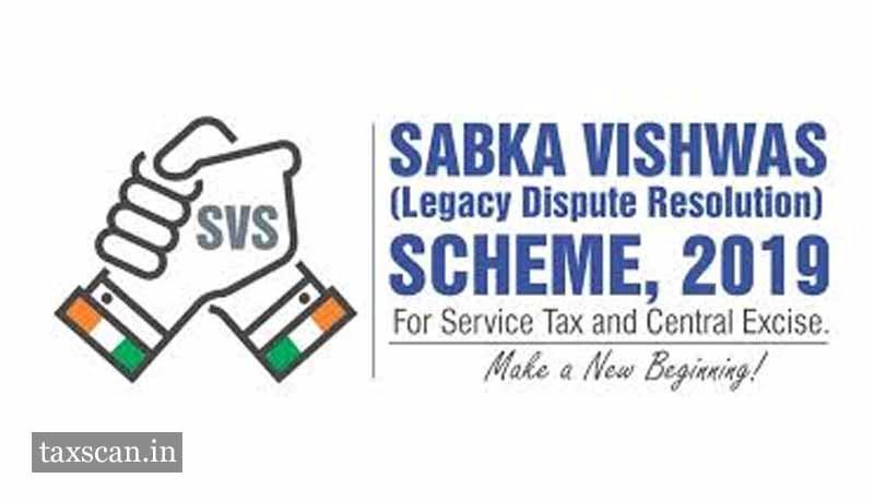 Sabka Vishwas scheme - Taxscan