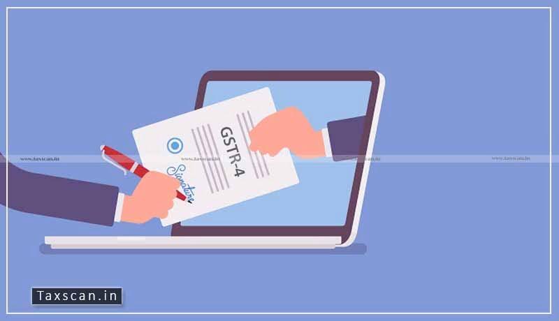 form GSTR-4 - GST portal - offline tool - Taxscan