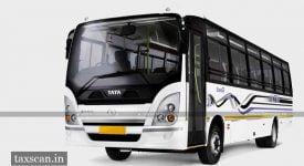 AAR - GST - ITC - tata - bus - Taxscan
