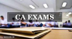 CA Exams - ICAI- Taxscan