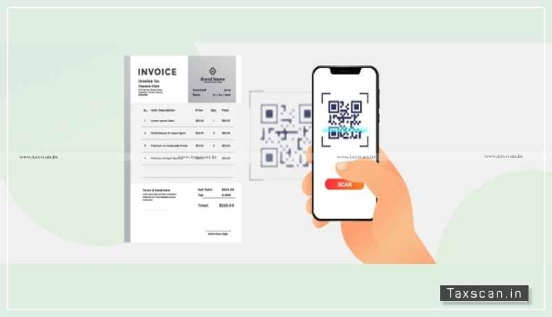 CBIC - Dynamic QR Code - B2C invoices - Taxscan