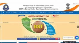 CGST - Website - CGandhinagar Commissionerate - taxscan