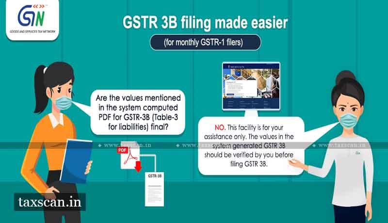 GSTN - GSTR-3B - GSTR-1 - Taxscan