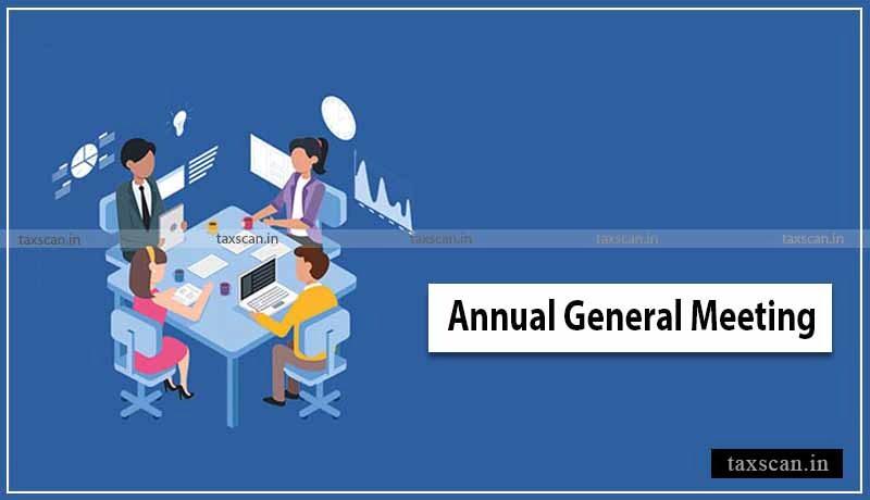 MCA - AGM - Financial Year - Taxscan