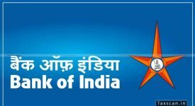 bank of india - CA - CFA - taxscan
