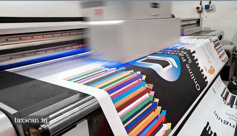 12% GST - applicable on printing - supply of trade advertisements - AAAR - Taxscan